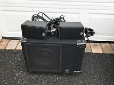 Yamaha MS100DR V-Drum Monitor Speaker Amplifier Satellite System MS-100DR
