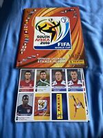 Panini 2010 World Cup German Version Completed With Update Sticker Set