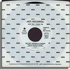 """One Way Featuring Al Hudson - Now That I Found You - 7"""" Promo 45 RPM Single!"""