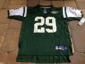 NWT! REEBOK OnField Youth Boys New York Jets #29 L Washington Jersey Sz L 14/16