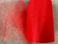 4m of 150mm Wide Soft Nylon Pink Shimmer Tulle Netting Fabric Wedding//Tutu