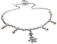 Modeschmuck-Halsketten & -Anhänger aus Strass mit Opal-Hauptstein