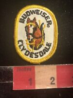 Vintage Iconic BUDWEISER CLYDESDALE HORSES Beer Advertising Patch C01M