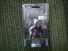 Game of Thrones LCG - The Faith Militant - Chapter Pack New
