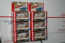Auto World ThunderJet ULtra-G iWHEELS HO Scale Slot Cars RARE Complete Set Of 6