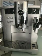 Jura Impressa S9 one Touch in Silber mit Profi- Cappuccinodüse frisch gewartet