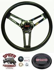 "1974-1979 Suburban Jimmy GMC pickup steering wheel 14 1/2"" Shallow Dish Grant"