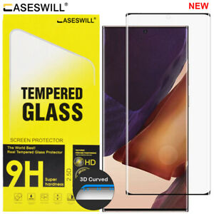 Samsung Galaxy S21 S20 Note 20 Ultra [Full-Glue] Tempered Glass Screen Protector