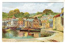 Mevagissey - Sylvester Stannard Art Postcard c1950s