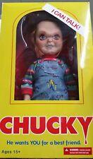 "Mezco Child's Play 15"" Good Guy Talking Chucky Figure Doll - NEW Sealed"