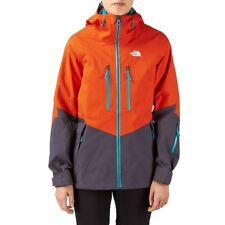 2014 NWOT NORTH FACE GORE TEX FREE THINKER WOMENS JACKET $600 M spicy orange