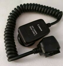 [Excellent++]Canon OFF-CAMERA SHOE CORD 2 Flash Cable for Speedlight From Japan