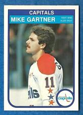 ca61431a4 Mike Gartner Washington Capitals 9 Graded Hockey Trading Cards