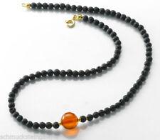 Natürliche Modeschmuck-Halsketten aus Stein