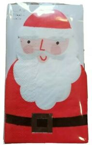 Meri Meri 45-2372 Santa Guest Napkin Novelty