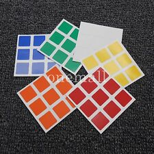 NEW 3x3x3 Cube Replacement Stickers for Dayan Speed Cube PVC Rubiks cube sticker