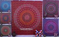 Indian Mandala Tapestry Psychedelic Throw Bedspread Bohemian Wall Hanging Decor