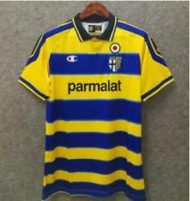 Parma 99-00 RETRO VINTAGE SOCCER FOOTBALL SHIRT JERSEY WORLD CUP TOP lk