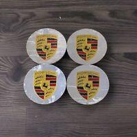 4x Original Porsche Nabendeckel Felgendeckel Chrom poliert 971 958 981 970 991