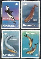 Grenadian Fish & Marine Animal Postal Stamps