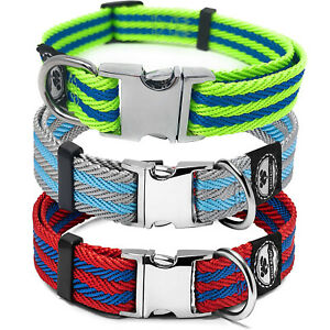 Pet Collar with Metal Buckle   Soft & Comfortable collar for Small & Medium dogs