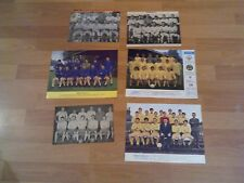 6 old torquay united football team groups with free postage