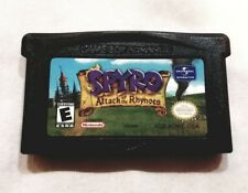 Spyro Attack of the Rhynocs NM Cartridge GBA Tested-Authentic!
