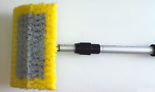 "WASH BRUSH & WATER FED POLE - 15"" Bi-Level Wash Brush 165cm Pole"