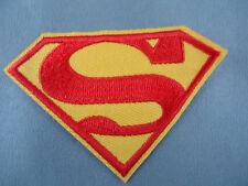 Superman emroidered  iron on /sew on badge