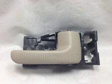 Rear Right Inside Door Handle Tan for 00-06 Toyota Tundra Regular Access Cab