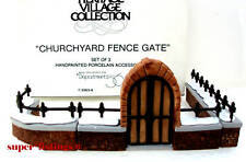 Dept. 56 Churchyard Fence & Gate by Gcc Set of 3 Heritage 55638