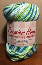 1 Skein - Premier Yarns- Premier Home Cotton Yarn - Poolside - 2.1 Oz - 105 Yds