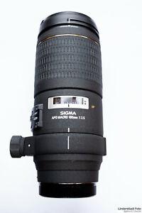 Sigma EX 180mm f3.5 APO IF Sony A-Mount Makroobjektiv Maßstab 1:1