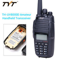 TYT TH-UV8000D 10W VHF/UHF Two Way Amateur Transceiver Radio Comunicador 3600mAh