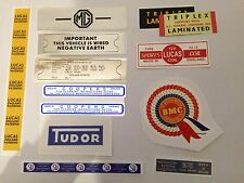 MG Ado16 1100 1300 Engine Bay Sticker Pack - Everything You Need for Your Car
