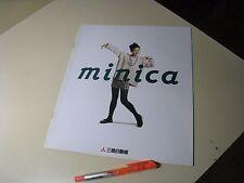 Mitsubishi MINICA Japanese Brochures 1994/10 31/36/32/37 4A30 3G83 KEI K-CAR