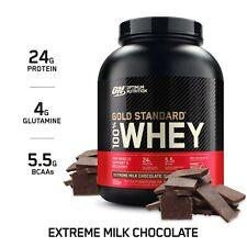 NEW Optimum Nutrition Gold Standard 100% Whey, Extreme Milk Chocolate NEW 5LB