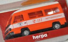 """Herpa 043557 – MB 100 Bus HD """"RD / Feuerwehr Leipzig"""", H0 1:87, neu + OVP"""