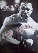 WWE Unforgiven 2007 DIN-A2 POSTER WWF Wrestling