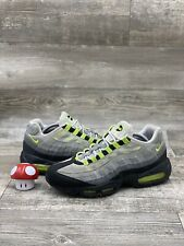 Nike Air Max 95 Neon Green Volt Yellow Cool Grey Black OG Size 10.5 609048-072
