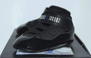 Air Jordan Retro 11 XI Space Jam 23 Blue Sneakers Toddler's GP Size 1C 2C 3C New
