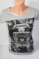 Strass-Normalgröße Kurzarm Damen-T-Shirts