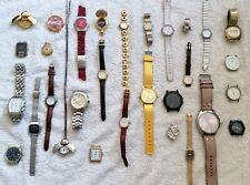 Lot de 30 montres quartz. Notamment Tissot, Seiko, Swatch, Gucci, Eterna, Verdal