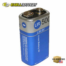 NEW 9V Lithium Rechargeable Battery For Alarm Smoke Detector FAST FAST USA SHIP
