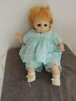 Madame Alexander Vintage Janie Doll Blond Hair Blue Eyes 3120