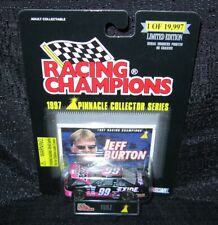 1997 NASCAR Racing Champions Pinnacle Collector JEFF BURTON #99 (Factory Sealed)