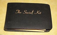 VTG SOCIAL KIT GAME 11 100 ICEBREAKERS JACK EDITH FELLOWS BROADMAN PRESS TN 1949