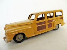 DINKY 27F 'PLYMOUTH WOODY ESTATE CAR'. COMPLETE. VINTAGE. VGC/EXCELLENT