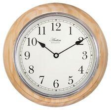 Wooden Quartz (Battery Powered) Antique Style Wall Clocks