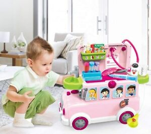 Pretend Play Set Kids Dream Suitcase Educational Role Play Boys Girls Toy Set UK